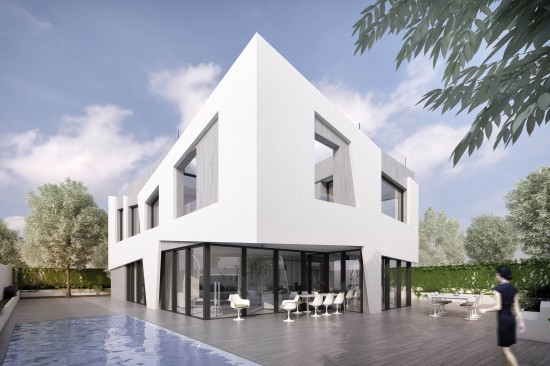 Vikapa_House. Façade image