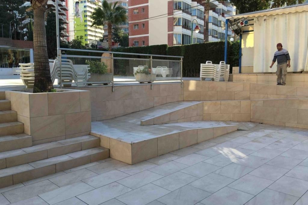 Reforma en el Hotel Levante Beach Club de Benidorm