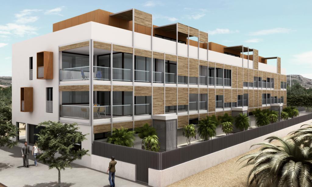 Las Palmeras Building: Imagen 1 de 7