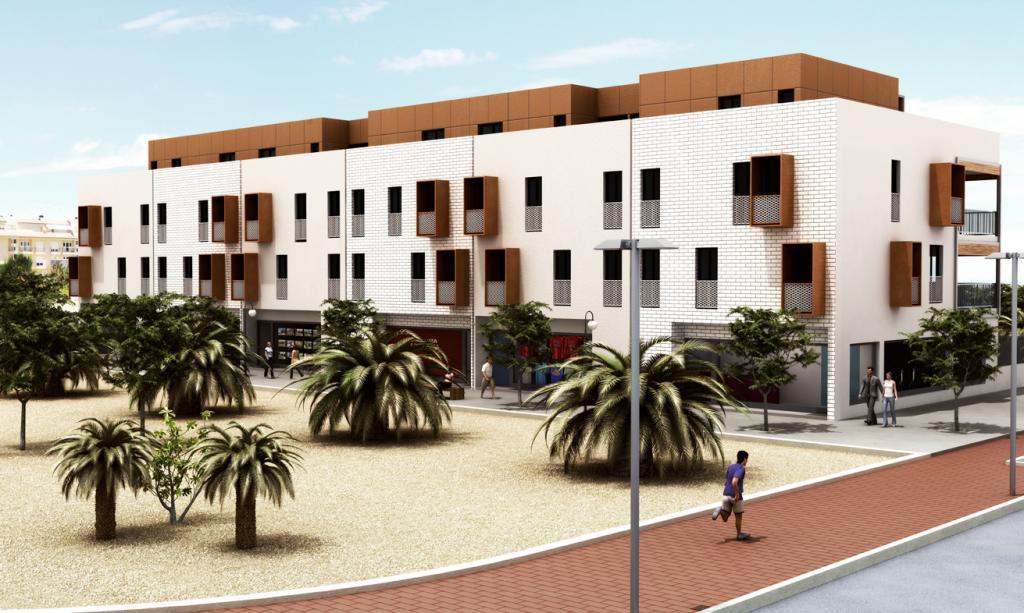 Las Palmeras Building: Imagen 3 de 7