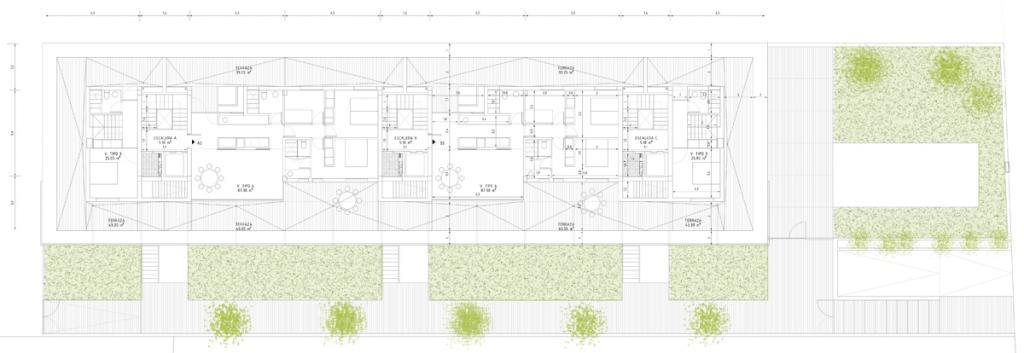 Las Palmeras Building: Imagen 6 de 7