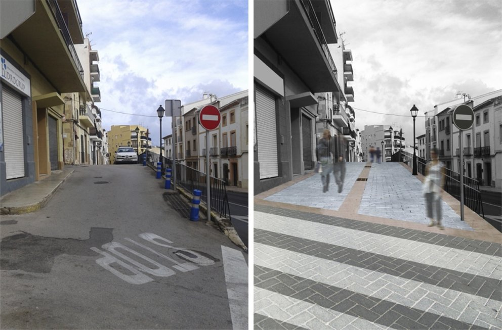 Cervantes street refubishment: Imagen 1 de 1