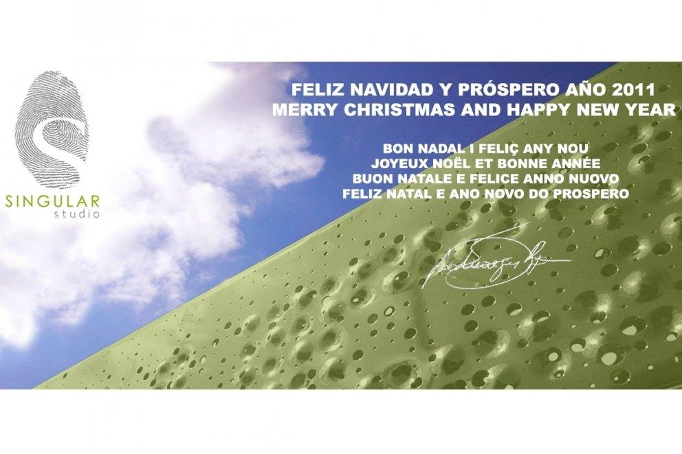 SINGULAR STUDIO OS DESEA FELIZ NAVIDAD Y PROSPERO 2011