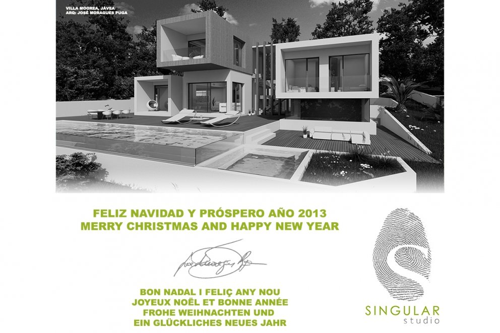 SINGULAR STUDIO WISHES YOU MERRY CHRISTMAS AND HAPPY NEW YEAR