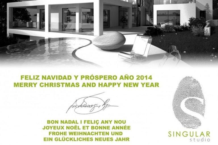 SINGULAR STUDIO OS DESEA FELIZ NAVIDAD Y PRÓSPERO AÑO NUEVO 2014