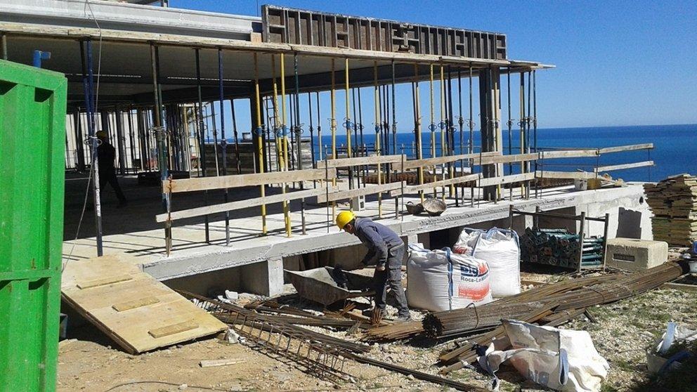 CASA OCÉANO, CONSTRUCTION JOURNAL 2