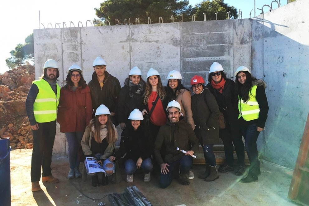 VISIT OF THE VALENCIA EUROPEAN UNIVERSITY STUDENTS