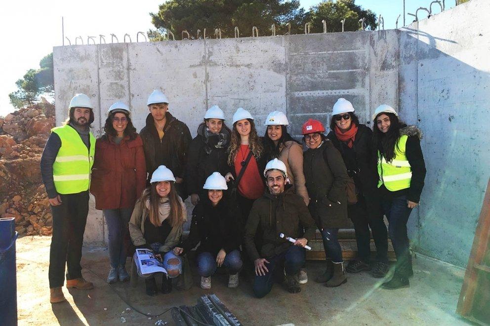 VISIT OF THE VALENCIA EUROPEAN UNIVERSITY STUDENTS