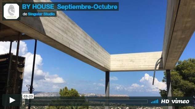 MAISON BY. DIARIO DE OBRA SEPTIEMBRE-OCTUBRE 2016