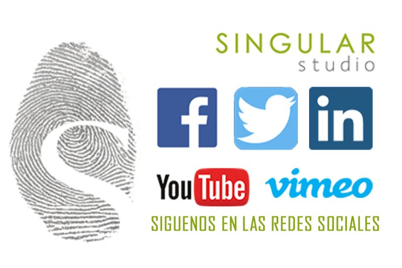 Find Singular Studio in the main social networks.