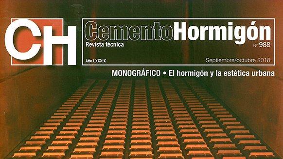 COLABORACIÓN MONOGRÁFICO REVISTA CEMENTO HORMIGÓN Nº 988