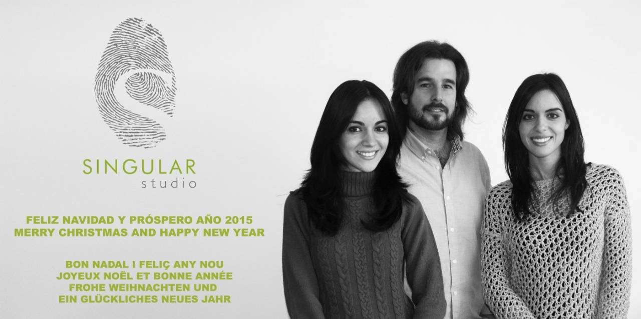 SINGULAR STUDIO WISHES YOU MERRY CHRISTMAS AND HAPPY NEW YEAR 2015